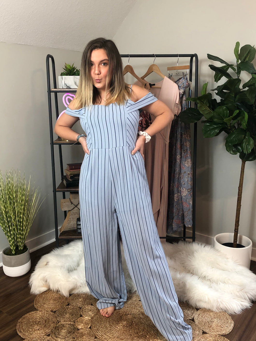 She and Sky jumpsuit size L