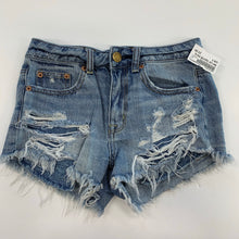 Load image into Gallery viewer, American eagle denim shorts 0