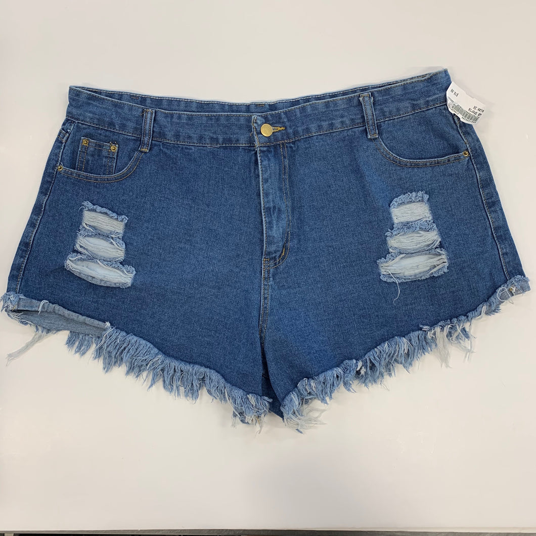 Denim shorts 3X