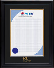 Load image into Gallery viewer, TAFE NSW Frame Black Elegance