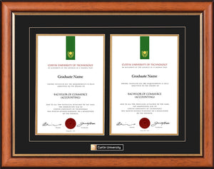Curtin University Frame Classic Double Degree