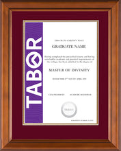 Load image into Gallery viewer, Tabor Frame Classic Elegance