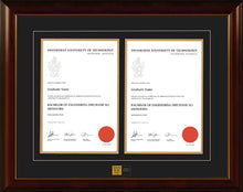 Load image into Gallery viewer, Swinburne Frame Mahogany Double Degree