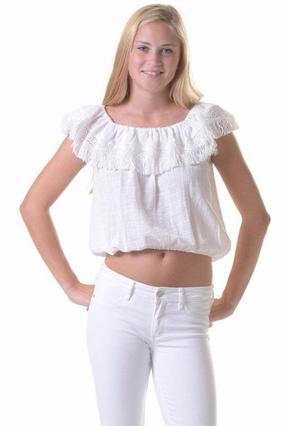 Kauai Top / White