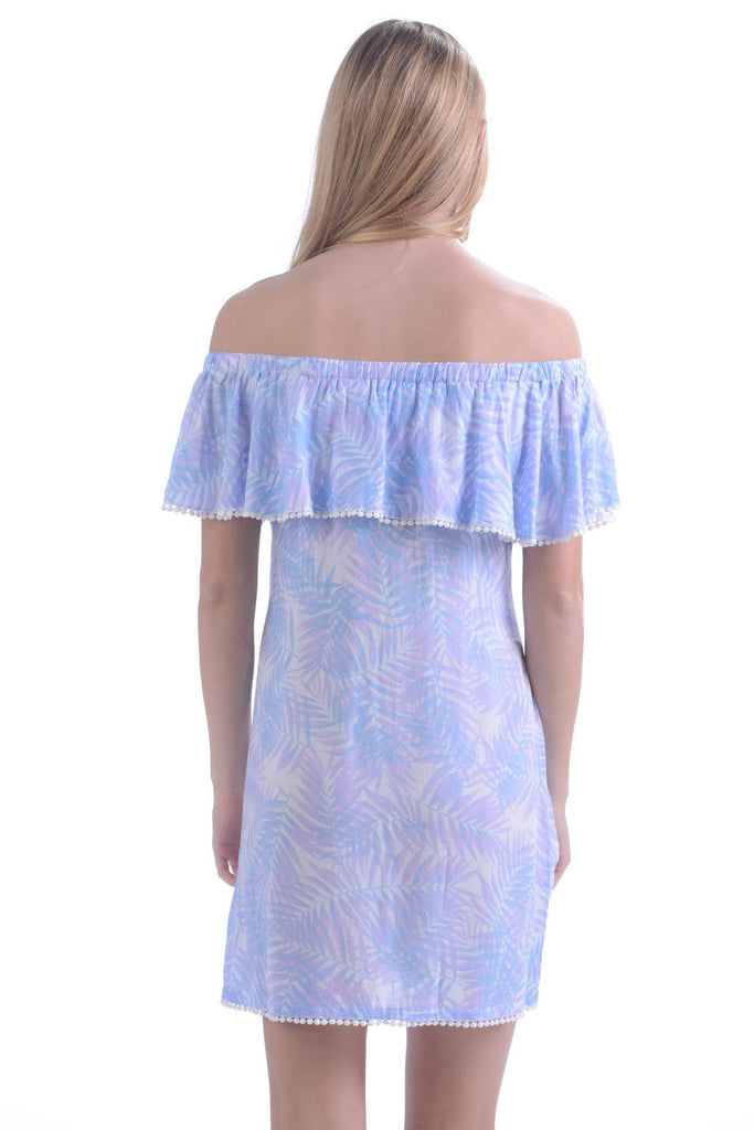 Molly Dress / lavender palm