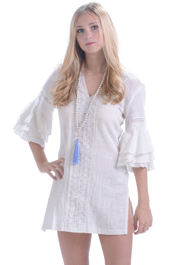 Bora Bora Coverup / White