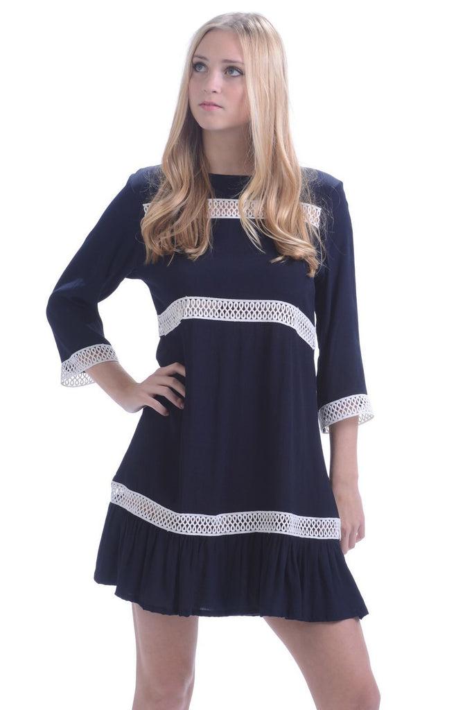 Jackie O Dress / Midnight