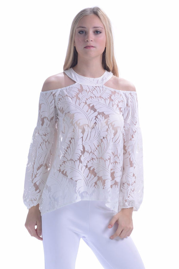 Palm Springs Top / White