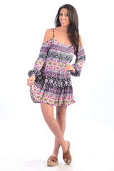 Coachella Dress / Charcoal Plum