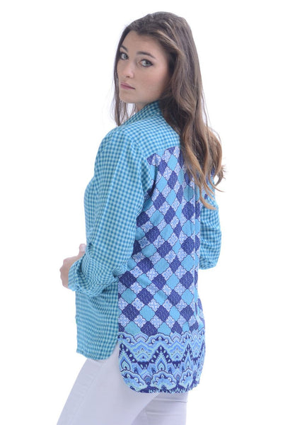 Pacifica Shirt / Teal