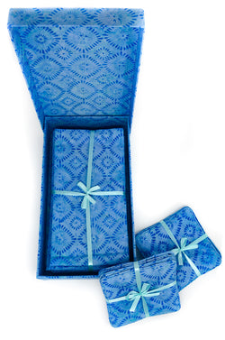 Napkin Box / Cornflower Blue