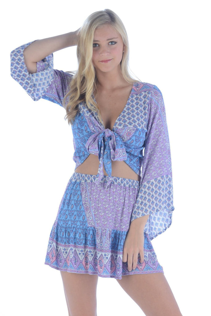 Boho Set / Blue Lavender