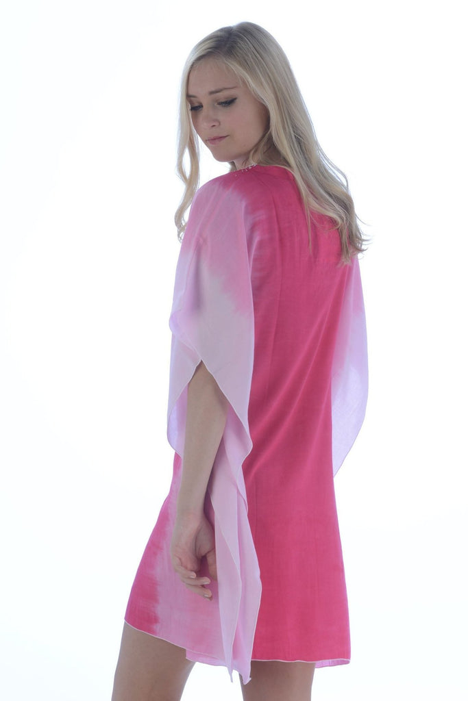 Goddess Kaftan / Hot Pink Ombre