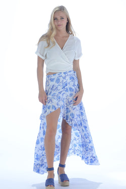 La Playa Skirt / Cobalt