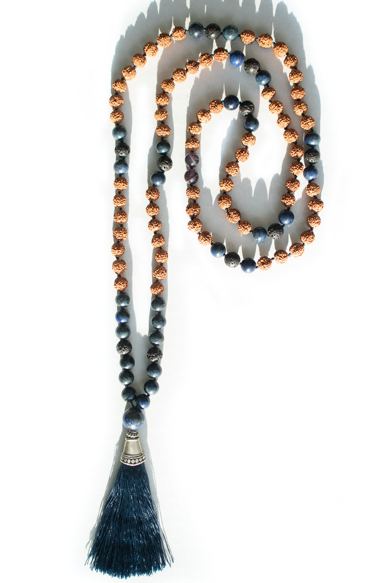 Mala Necklace / Marine