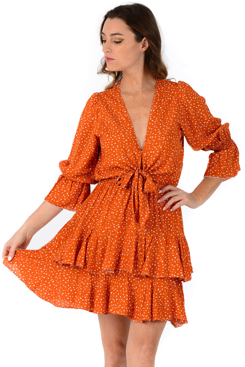 Hailey Dress / Pumpkin Spice