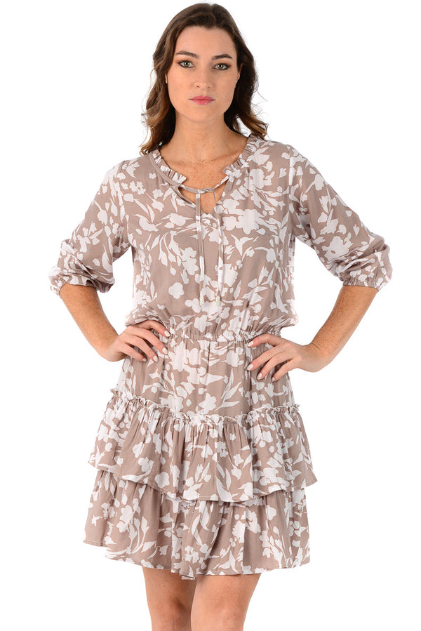 Kyra Dress / Cappuccino