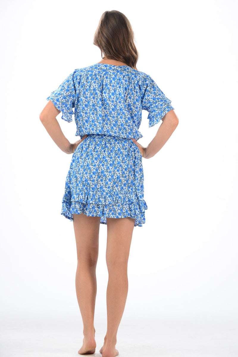 Courtney Dress / Poppy Blue