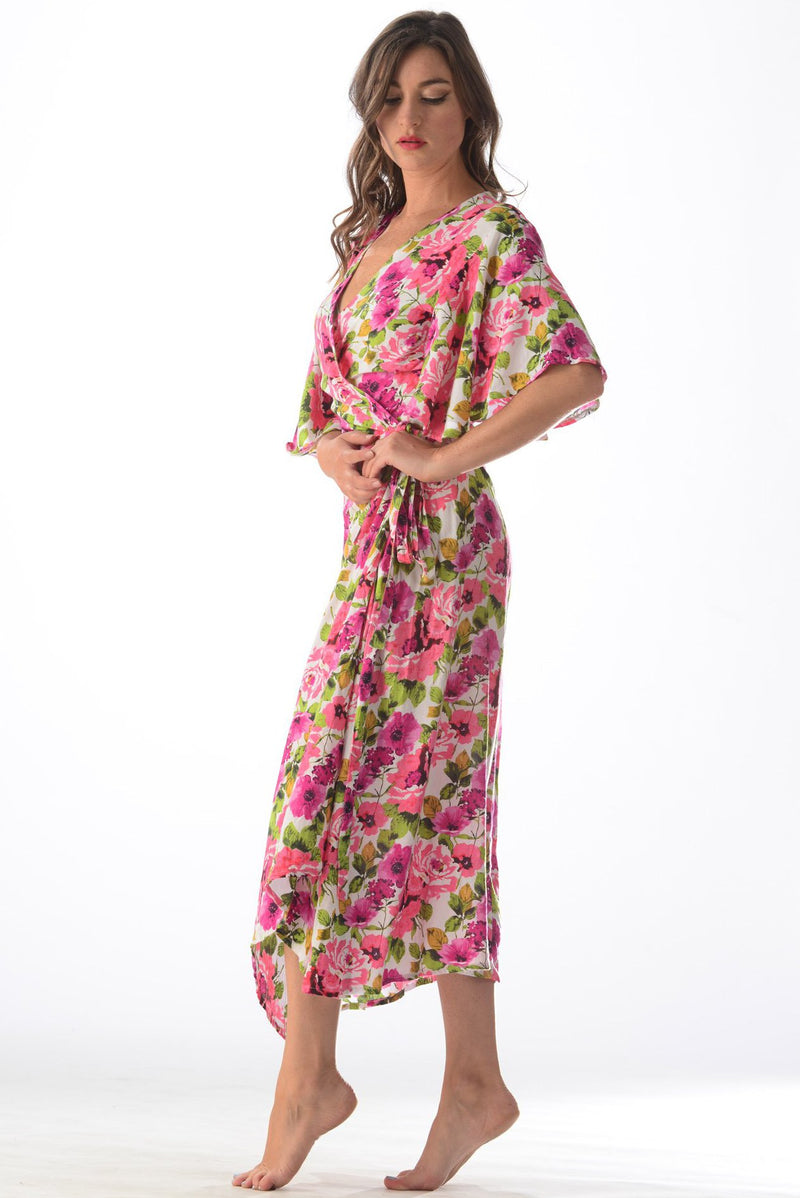 Valencia Dress / Pink Rose