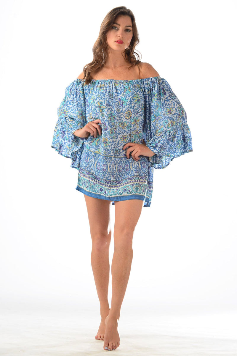 Belle Coverup / Blue-Violet