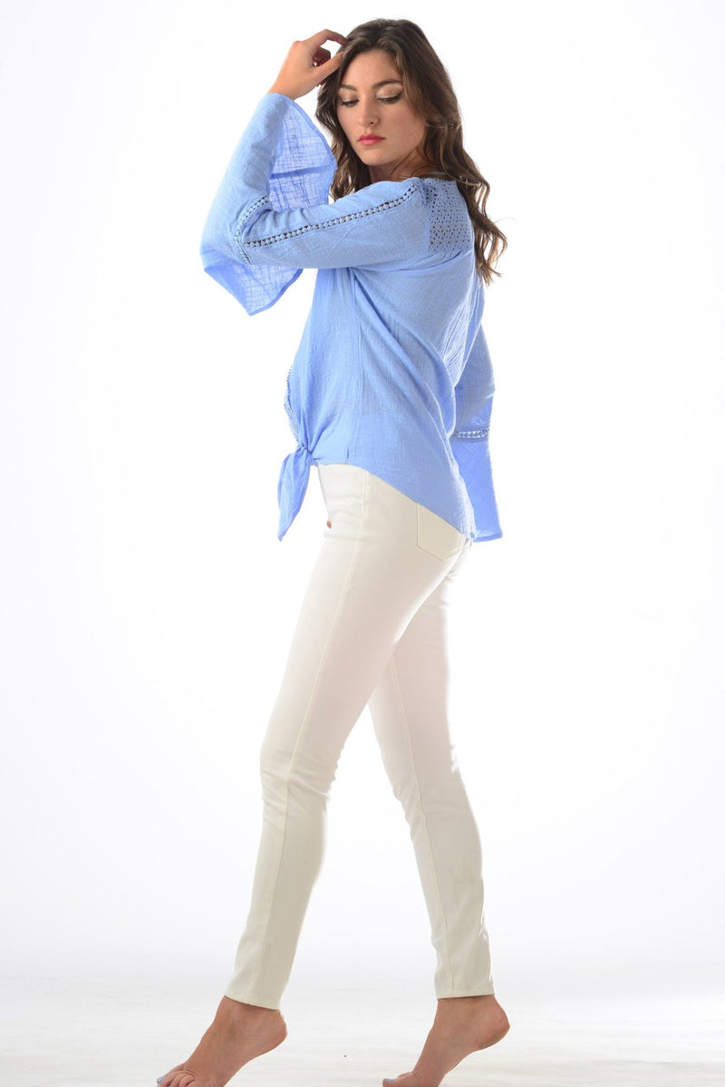 Kelly Top / Periwinkle