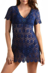Mandala Tunic / Navy - Walker&Wade  - 1