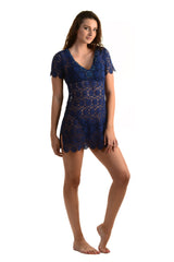 Mandala Tunic / Navy - Walker&Wade  - 2