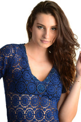 Mandala Tunic / Navy - Walker&Wade  - 3