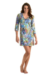 Travel Dress / Ikat Watercolor - Walker&Wade  - 1