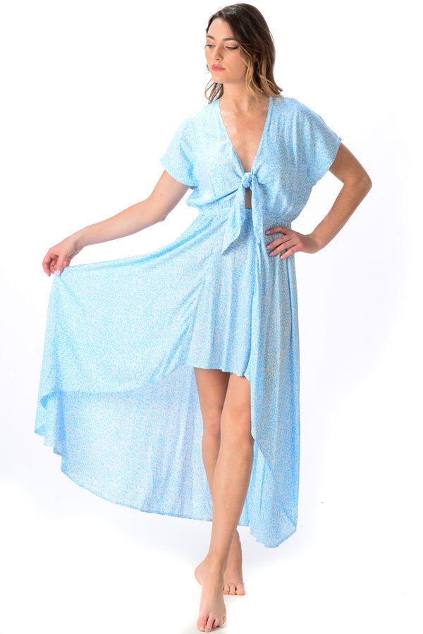 Delray Dress / Sky Blue