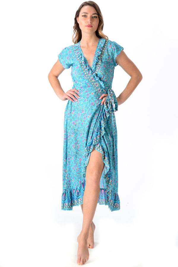 Voyager Dress / Turquoise