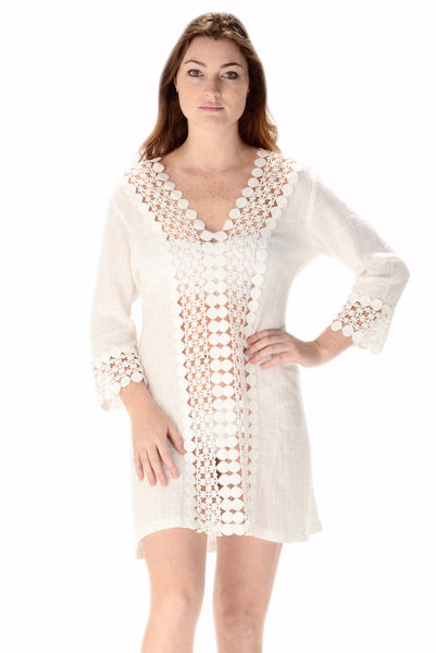 Sea Island Coverup / White