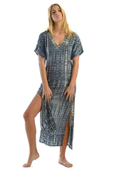 Uluwatu Dress / Charcoal - Walker&Wade  - 1