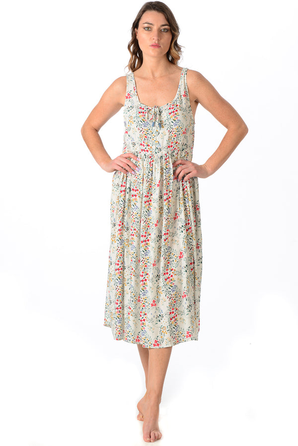 Shannon Dress / Ivory Floral