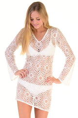 Viktoriya Coverup / White Lace (short)
