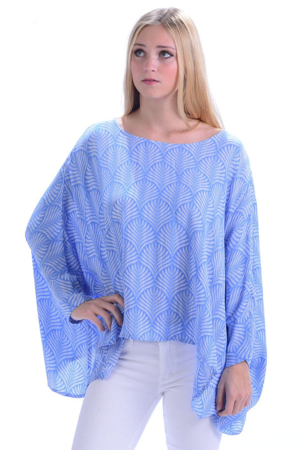 Paradise Top / Periwinkle Palm