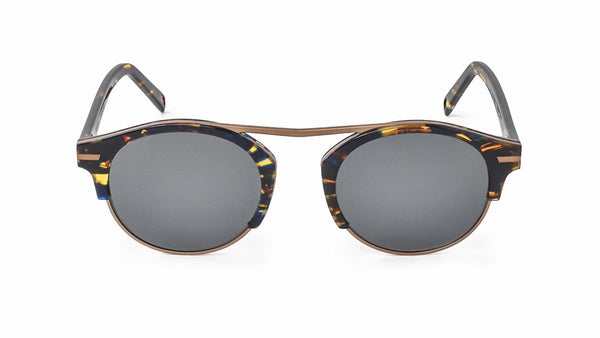 Bisous Sunglasses / The Rumrunner in Copper