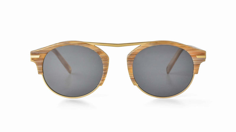 Bisous Sunglasses / The Rumrunner in Blonde