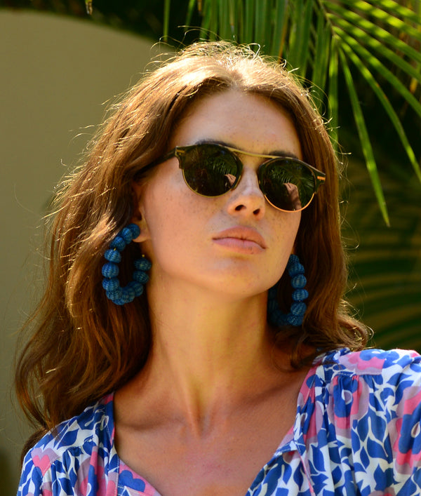 Bisous Sunglasses / The Rumrunner in Pure Tortoise