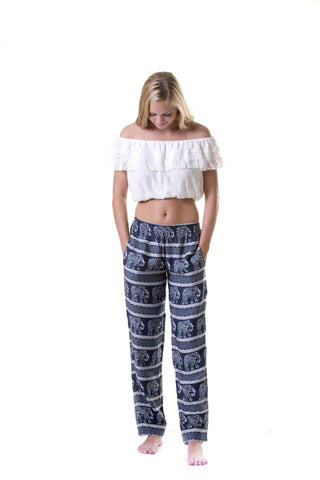 Surf Pants / Navy Elephant