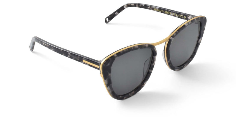 Bisous Sunglasses / The Hannah in Snow Leopard