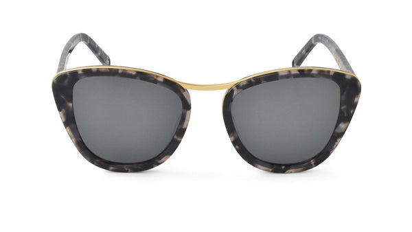 Bisous Sunglasses / The Headliners in Snow Leopard