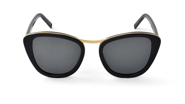 Bisous Sunglasses / The Hannah in Black