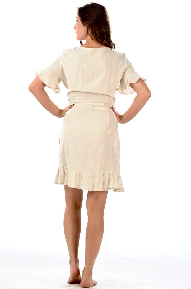 Newport Dress / Tan