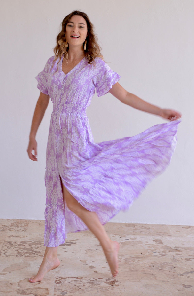 Christina Dress / Lavender