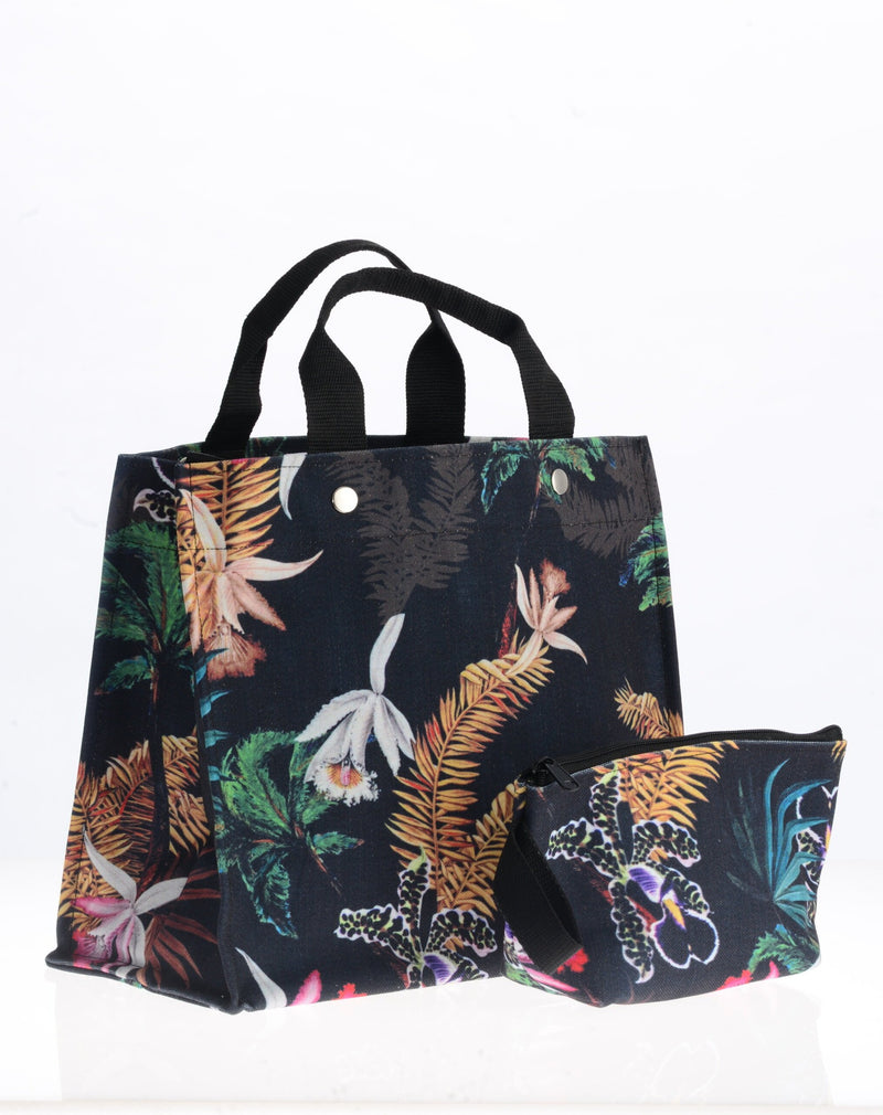 City Tote / Black Orchid