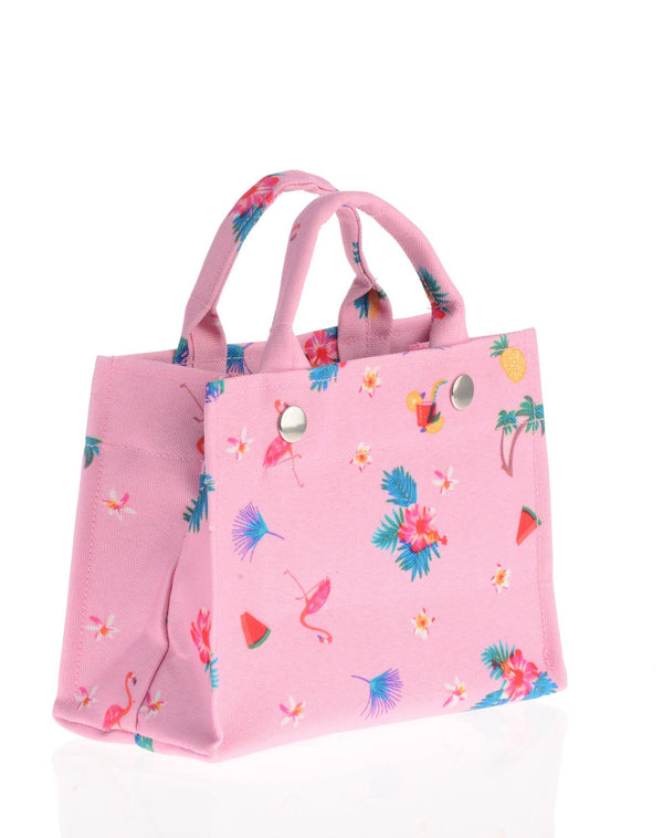 Junior Tote / Pink Tropical