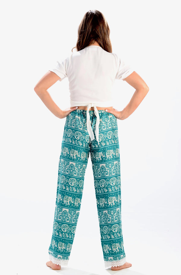 Lounge Pants / Jade Green