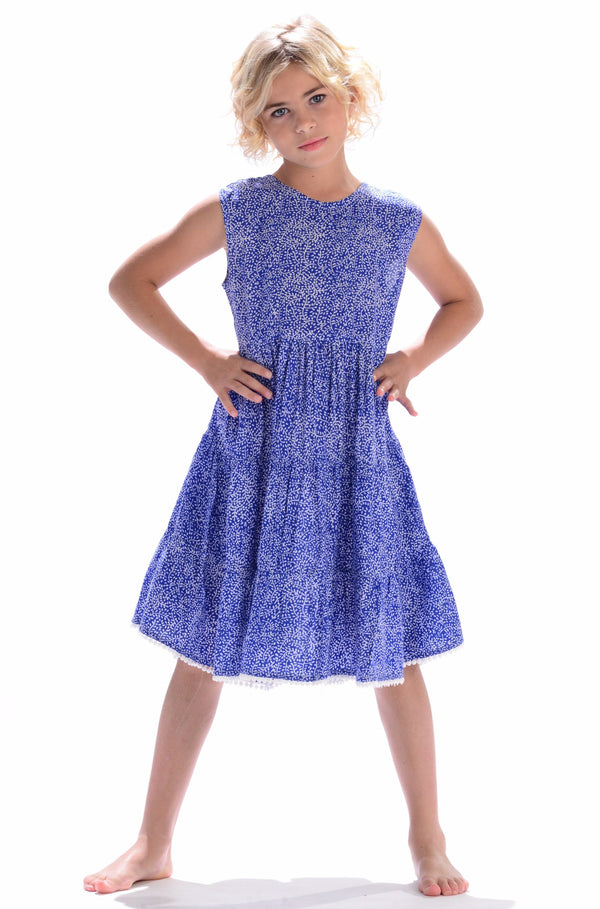 Girls Bella Dress / Royal