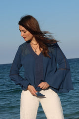 Kelly Top / Indigo